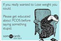 PCOS & Endometriosis / by Kellie Awe
