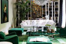 """Color: Kelly Green / Feel lucky year-round with these shamrock shades!  HGTV writes, """"Catherine B. Stein, president of the Color Council, says Kelly green is the color to watch. Having strutted down the runway several seasons ago, it's now showing up in accessories and as an accent color for interiors.""""  / by Artwork Network"""