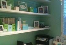 my studio/office / by Sara Skinner Scarlet Plan & Design