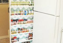 Pantry & kitchen storage / by Juli Santillan