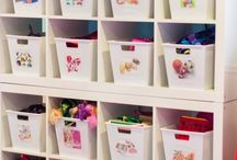 Decor I Adore:  Craft Rooms / by Andrea Cammarata