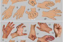 Character Reference Hand / by David Thomas