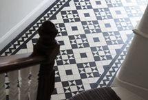 Hallway tiles / by Joanne Lewsley