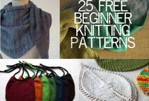 Begin knitting / by Jocelyn Sevegney