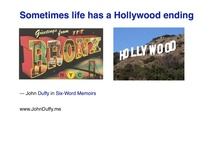 Duffy's Six Word Memoirs / by John Duffy