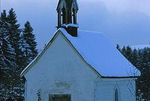 I love old country churches.... / by Joanne Tescher