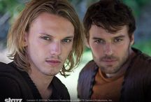 """Camelot (2011 series) / """"Fate can go begging. Destiny has to be won."""" ~Merlin; Camelot / by Ivy Miranda"""