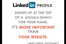 """LinkedIn Marketing Strategies  / I love LinkedIn! I've been quoted by the media many times saying """"I believe your LinkedIn profile is more important that your website."""" Don't believe me? Google yourself and tell me what comes up! LinkedIn is a powerful social network for growing your business (if you use it right). It is so important to have a credible and professional LinkedIn presence! Need a better presence? Download my free LinkedIn Checklist at http://LinkedInChecklist.com / by Melonie Dodaro"""