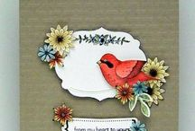 Punch Your Little BIRDY Heart Out / Punch art and ideas to use with the Stampin Up Bird punch! / by Gretchen Taylor