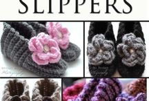 Crochet slippers and booties / by Leslie Goodwill