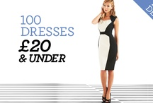 Dorothy Perkins 100 dresses £20 and under / by Dorothy Perkins