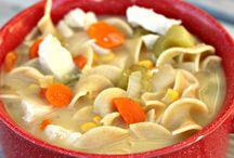 soups / by Jerri Sarver Blemker