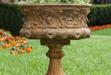 URNS /PLANTERS / STATUARY / by Pam Dawson