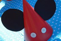 Mickey Mouse party / by Hoot N' Holler Host for Hire