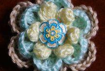 crochet flowers / by Nancy Wilkins