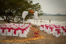 Beach Weddings Costa Rica / May 2012 Wedding set up on Flamingo Beach, Guanacaste Costa Rica / by Flamingo Beach Resort and Spa