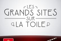 """Les Grands Sites sur la toile / Nous vous invitons au """"festival"""" des grands sites. Des films, des devinettes, des palmes à attribuer, un jeu-concours … : suivez de près notre page Facebook TourismeMidiPyrenees ! (https://www.facebook.com/TourismeMidiPyrenees) / by Tourisme Midi-Pyrénées"""