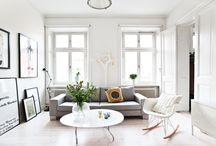 LIV-ING ROOM / by Rebecca Hadley