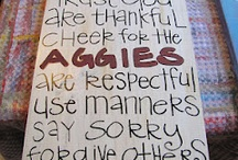 All things Aggie / by Peggy Nolan