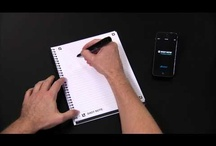 Ampad Shot Note / The Ampad Shot Note's innovative writing pads allow you to save, search and share your handwritten notes, memos and drawings! Visit our site for more details: http://ampadshotnote.com/ / by Pendaflex