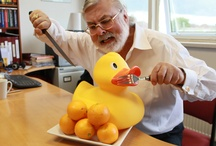 What's your duck up to ? / As part of Smash it and Grab it (www.smashitandgrabit.com) video series, show us what your duck is up to. Pin an image of your duck, maybe with yourself, perhaps it's swimming or just relaxing. The best pin will win a FREE MENTORING PACKAGE with Ron himself worth £500, which includes a one on one session (in person or skype) and a mp3 audio of Talk & Grow Rich. COMPETITION END DATE 19 JULY. WINNER WILL BE ANNOUNCED ON THE 26TH JULY. / by Ron G Holland