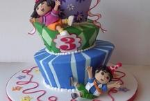 Dora, Diego cakes / by Glorivette Huertas