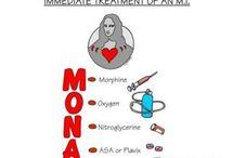Nursing School Mnemonics / by Danielle Schmalfeldt