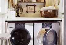 Laundry/mud room ideas / by Janice Organ