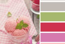 COLORS / Some of my favorite color combos for upcoming crafting ideas? / by Silke Ledlow