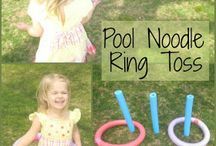 pool noodles not just for the pool / by Michelle Henretta