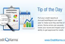 Credit Tips / Tips for managing and building credit / by CreditKarma