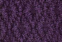 knit stitches / by Suzi Schumann