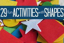 Co-op Class Ideas - Shapes / by Wani