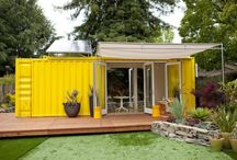 Small Places & Spaces / Modular, container, unconventional, & clever. All one needs! / by Maricela G