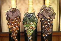 Wine Bottles, Mason Jars, Glasses / How to recycle and reuse empty wine bottles, mason jars and beverage/wine glasses.   / by My Dream Vacation Travel