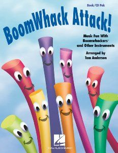 Amazon.com: BoomWhack Attack! - Music Fun With Boomwhackers and Other Instruments: Musical Instruments