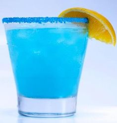 Pacific Blue Sangria, 130 calories! Find this recipe and other colorful sangrias here.