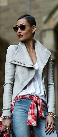Fashion ● Denim On The Street