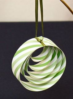 #Easy #Christmas #Crafts #Paper #Circles #Ornaments