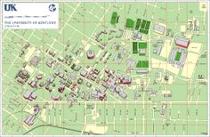 Campus Map - http://www.uky.edu/CampusGuide/