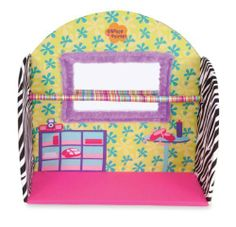 Manhattan Toy Dancerific Studio by Manhattan Toy. $37.84. Inspires fun, creative play in your young child. Studio includes mirror with fabric trim and satin covered ballet bar. Part of the Groovy Girl Collection by Manhattan Toy Company. From the Manufacturer                The Groovy Girls Dancerific Studio makes it easy for every Groovy Girls to practice their groovylicious dancing skills. Studio includes mirror with soft fabric border and satin covered balanc...