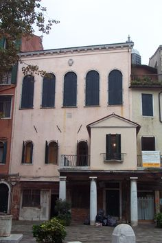 Jewish Ghetto - Venice, Italy - Ghetto Nuovo - Scuola Italiana