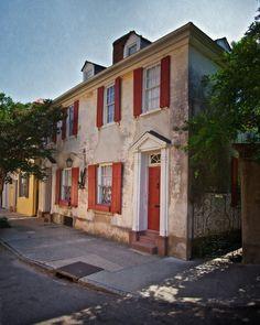 The Pirate House, Charleston, SC #charleston #architecture
