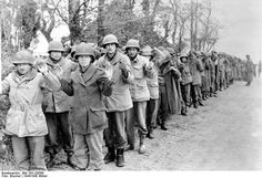 US POWs captured by the Germans during the Ardennes offensive, 22 December 1944.