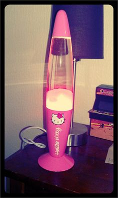 Hello Kitty Lava Lamp - got my step-daughter this for Christmas!
