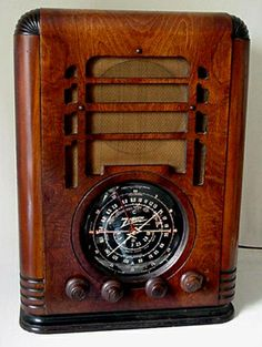 Zenith 1937 5S127 Tombstone Radio
