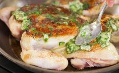 Super Quick Video Tips from America's Test Kitchen... herb roasted chicken and more