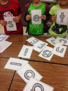 Freebie Word building activity--Team (word) building!