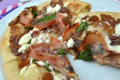 Goat cheese & Fig Pizza