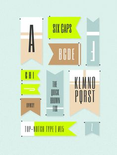 top-notch type #5 #type #design